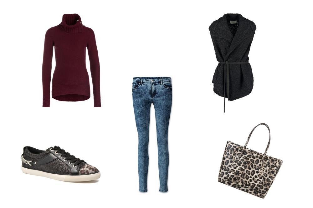 1 neuer Lieblingspullover – 3 verschiedene Herbststyles - Der sportive City-Look