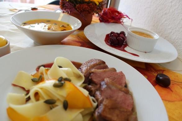 [Blogparade] *Mein Herbst* — Herbstmenü – Einmal quer durchs Kürbisfeld