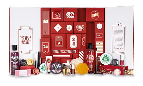 The Body Shop - 24 Happy Days Adventskalender Deluxe