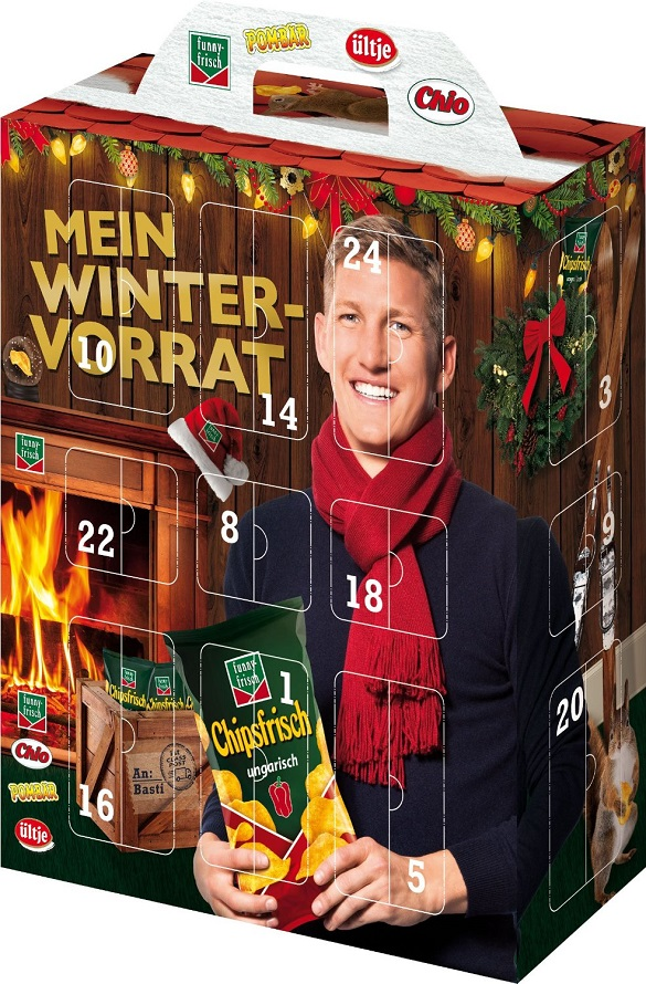 Intersnack Snack Adventskalender