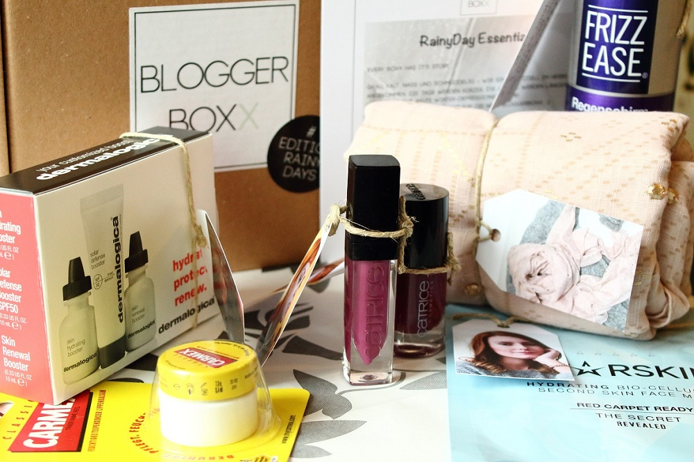 BloggerBoxx Edition Rainy Days