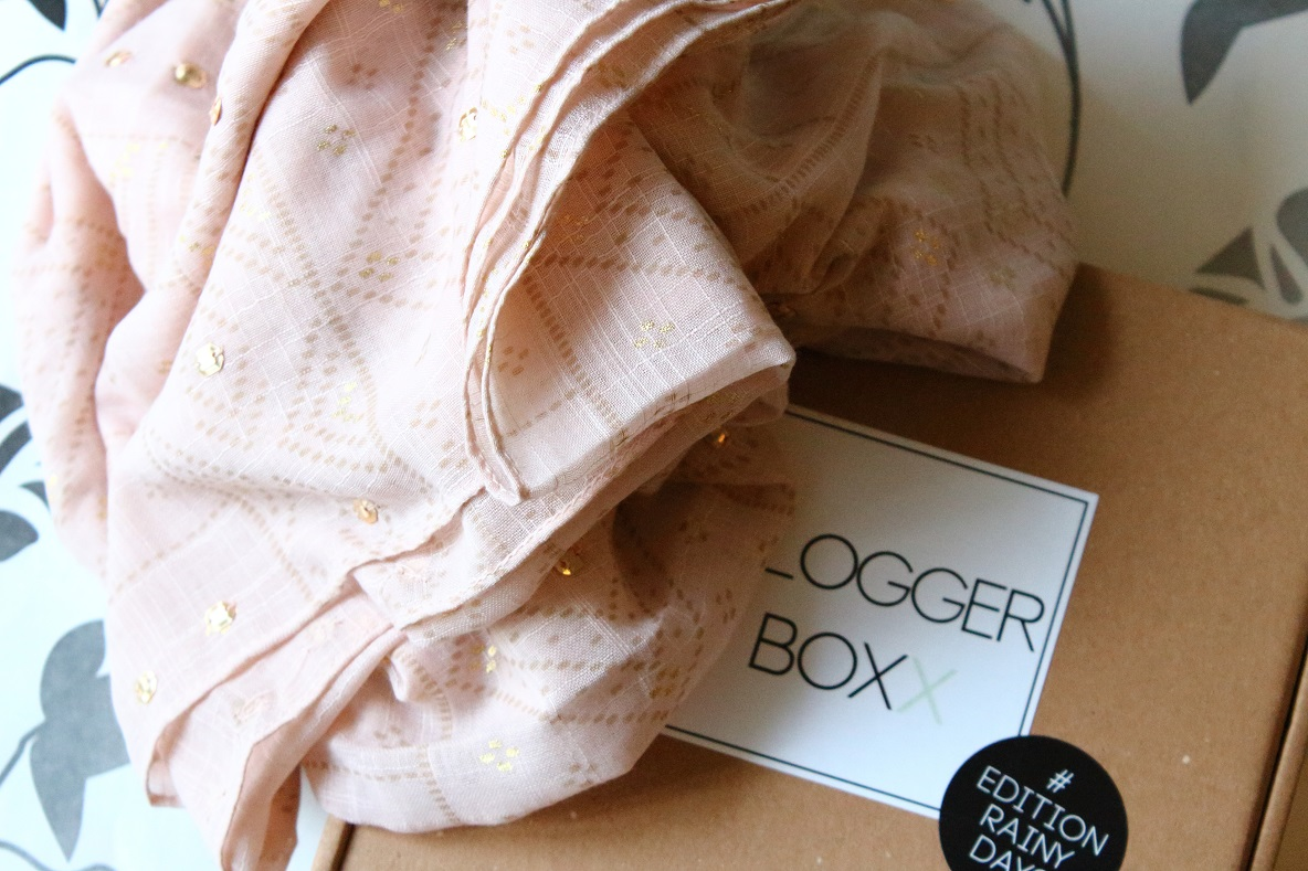 BloggerBoxx Edition Rainy Days - Schaltuch