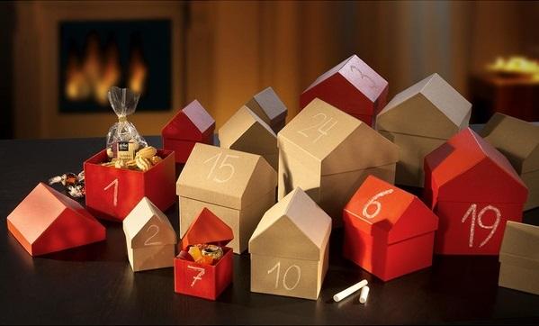 Adventskalender Weihnachtsdorf