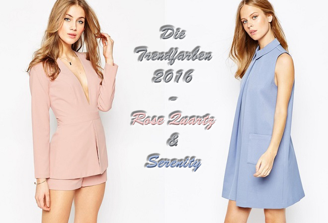 Die Trendfarben 2016 - Rose Quartz & Serinity