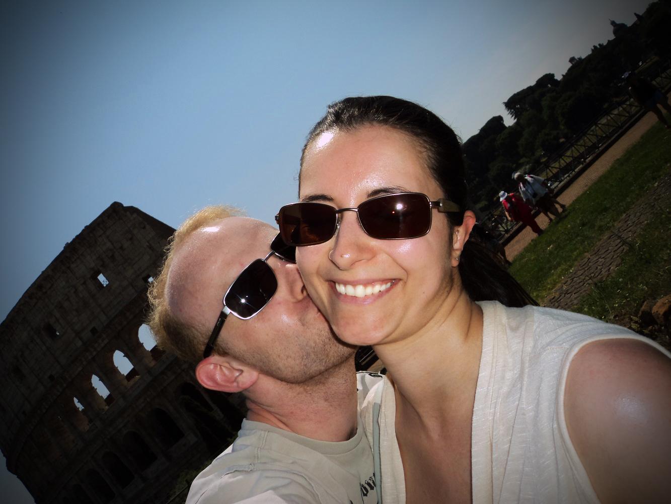 Colosseums-Selfie Rom