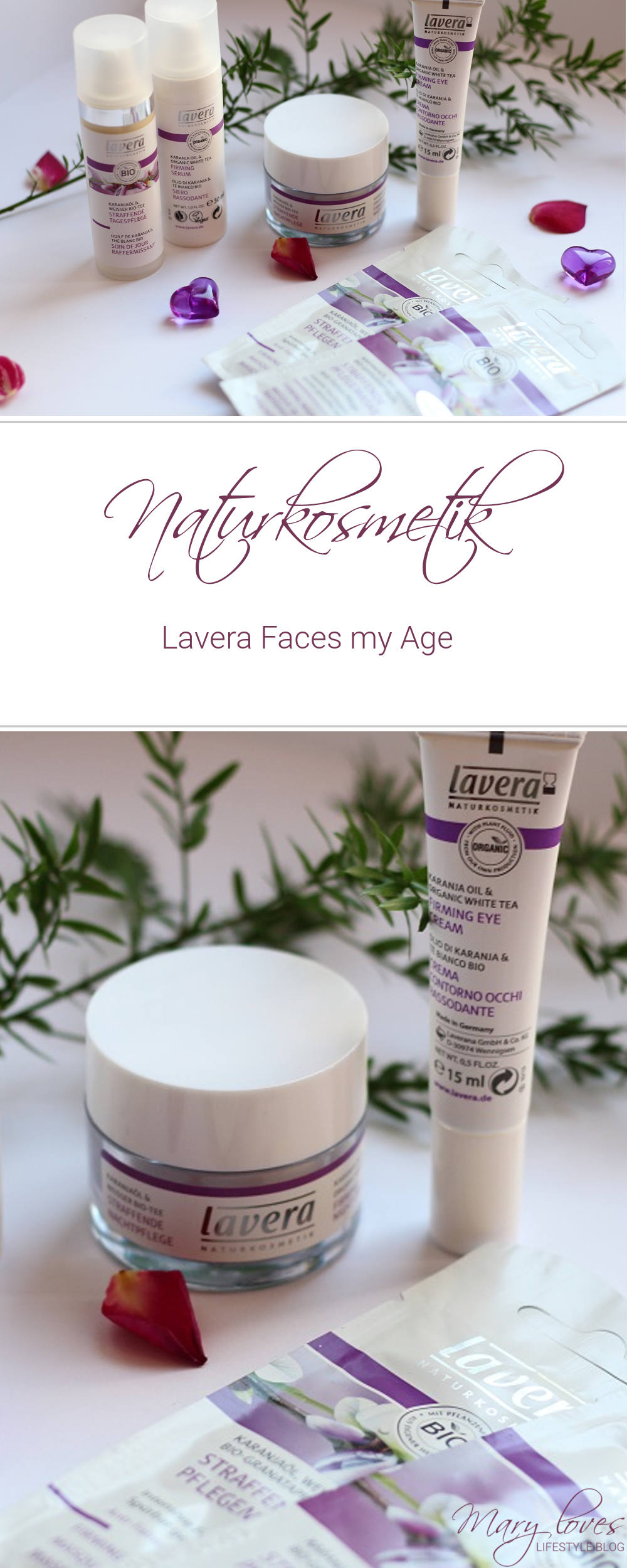 Naturkosmetik - Lavera Faces my Age