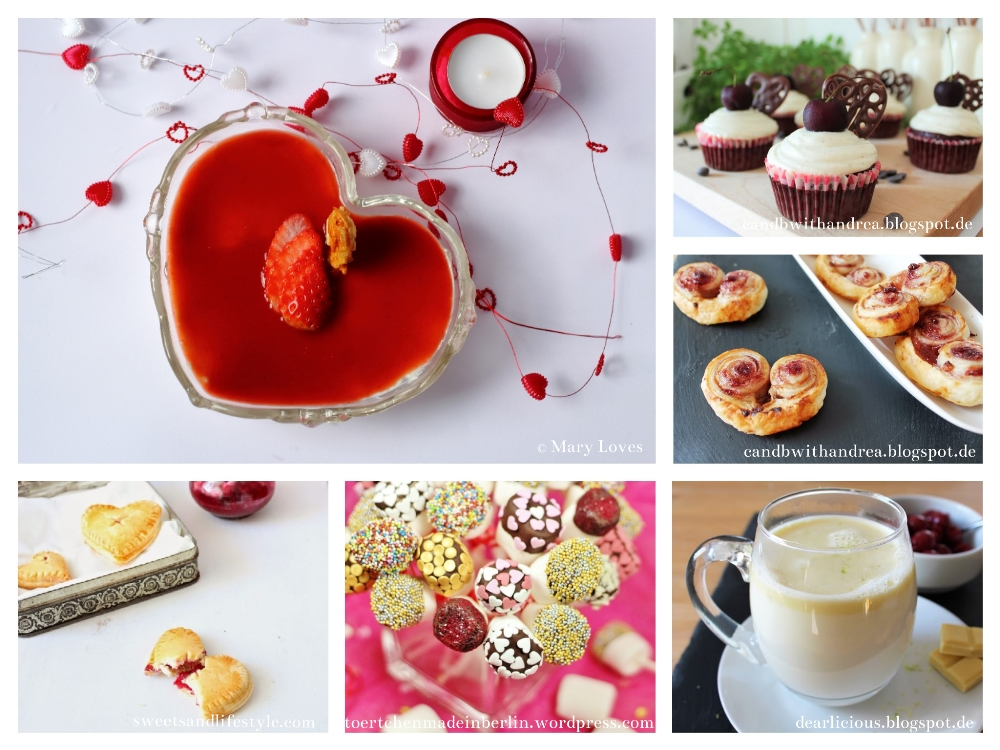 Link Collection - Valentinstag 2016 - Valentinstag Food-Inspiration