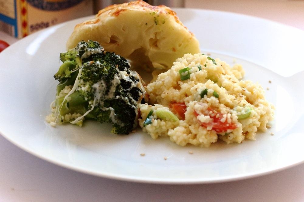 Blumenkohl-Brokkoli-Duo auf Couscous 2