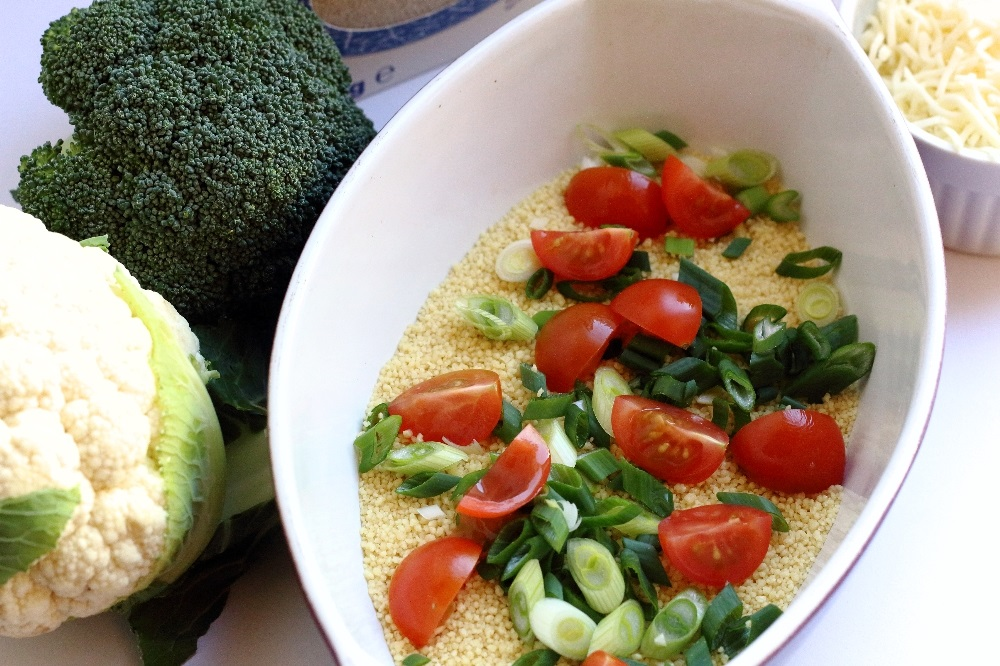 Blumenkohl-Brokkoli-Duo auf Couscous - Zutaten