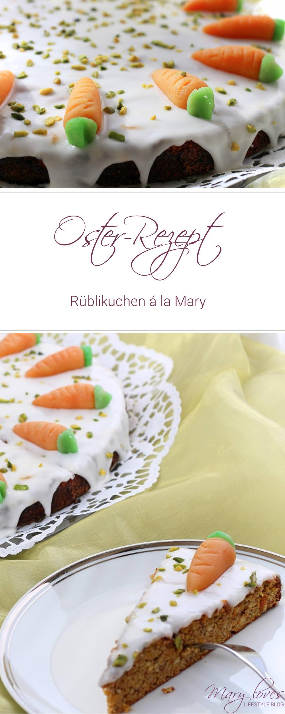[Oster-Rezept] Rüblikuchen á la Mary