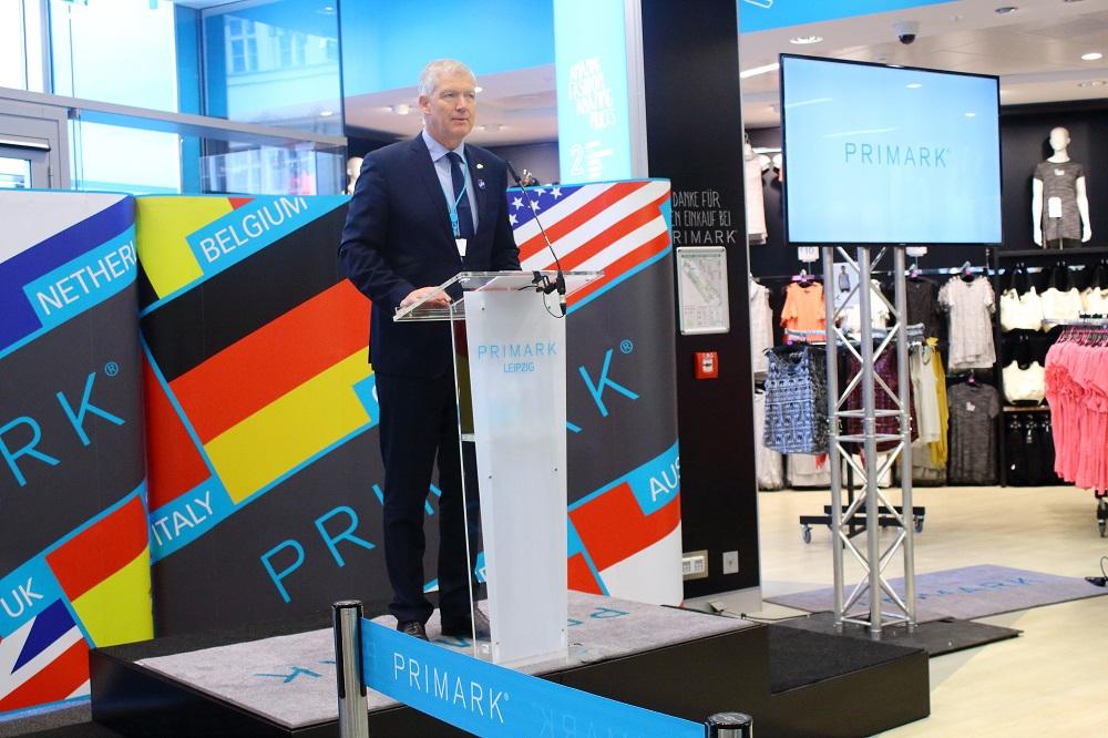 Eröffnung Primark Store Leipzig - Begrüßungsrede Dr. Michael Schimansky