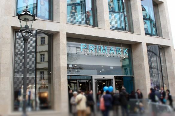 Eröffnung Primark Store Leipzig - Haupteingang