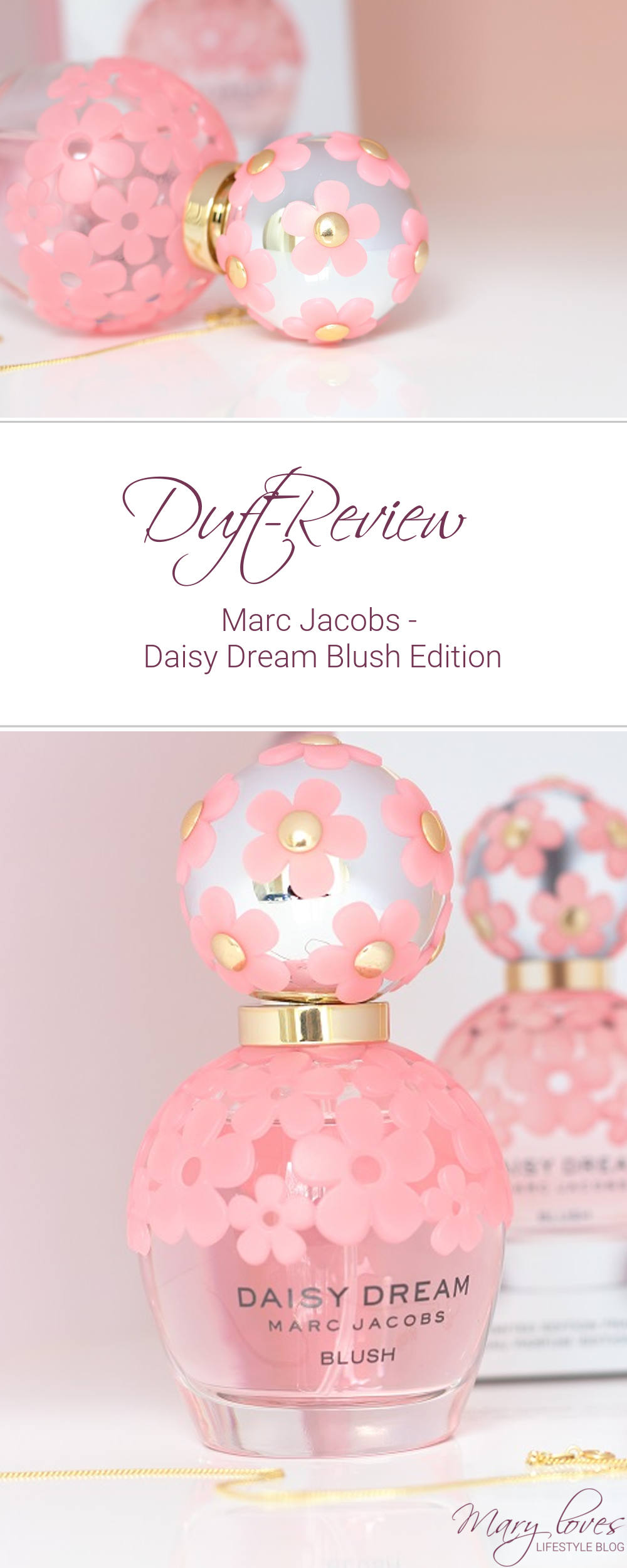Duft-Review - Daisy Dream Marc Jacobs Blush Edition