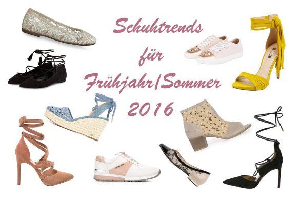 Schuhtrends für Frühjahr-Sommer 2016