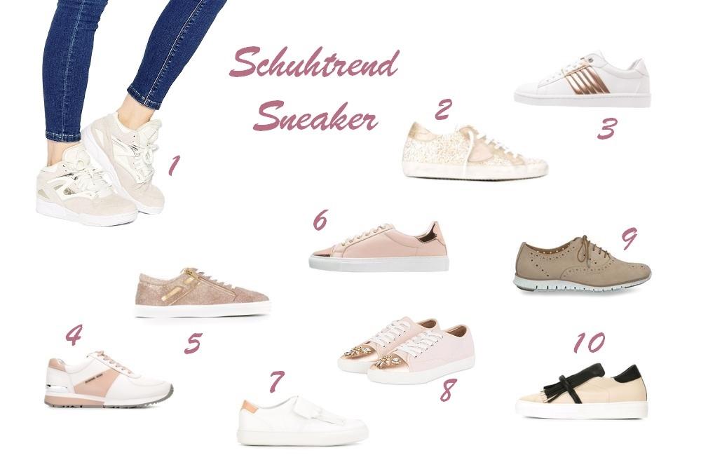 Schuhtrends für Frühjahr/Sommer 2016 - Sneaker