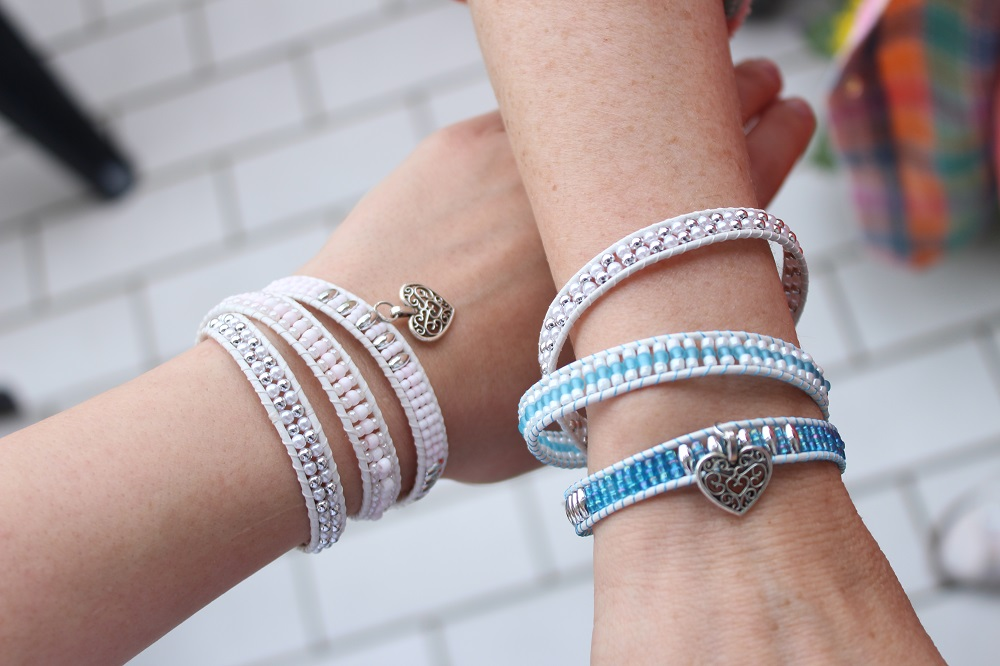 Blogger-Armband-Kollektion - Dailydreamery Leipzig - Modell Mary Loves & Modell Mary Loves blue 2