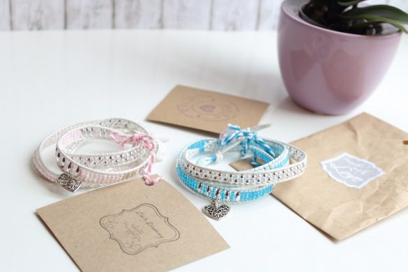 Blogger-Armband-Kollektion - Dailydreamery Leipzig - Modell Mary Loves & Modell Mary Loves blue