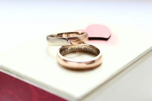 Heute vor einem Jahr - Eheringe