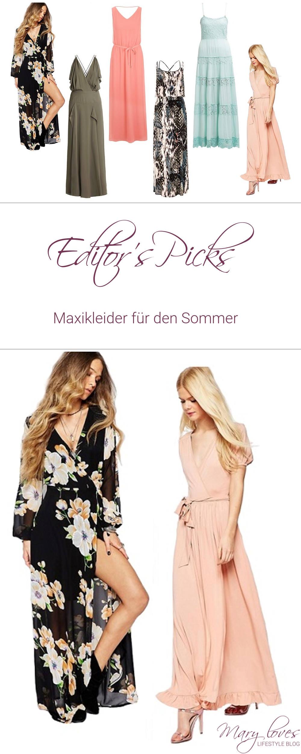 [Editor's Picks] Maxikleider für den Sommer