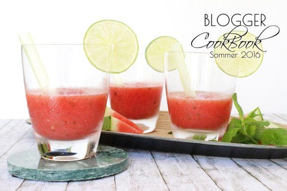 Sommerliche Rezepte im Blogger-CookBook Sommer 2016