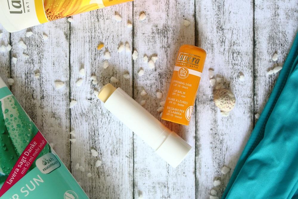 Sonnenpflege mit Lavera Sun Sensitiv - Lippenbalsam