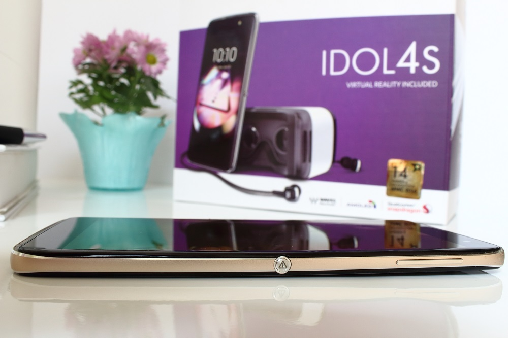 Boom me up - Das neue Alcatel Idol 4s - Boom-Key