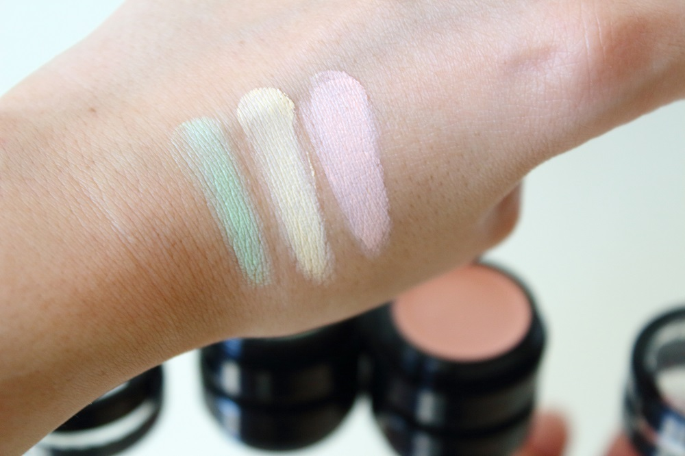 Catrice Neuheiten Teint Herbst/Winter 2016/2017 - Camouflage Cream - Anti-Shadow, Wake Up Effect & Anti-Red - swatches