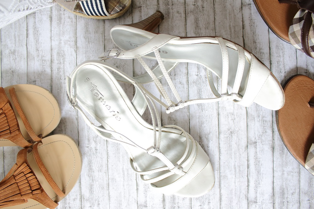 Meine Lieblingsschuhe im Sommer - Tamaris Sandaletten