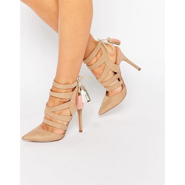Miss KG Schnür-Sandaletten mit Quasten
