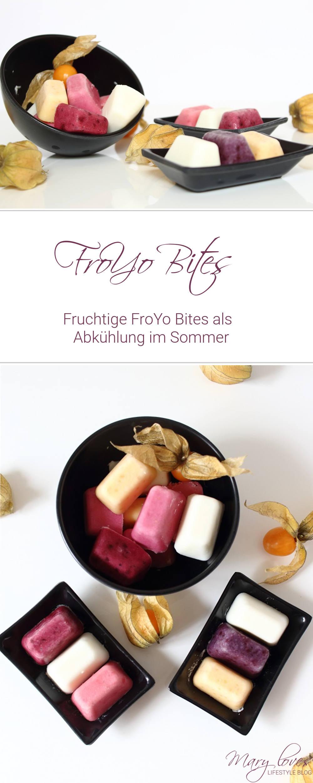 Fruchtige FroYo Bites als leichte Abkühlung im Sommer