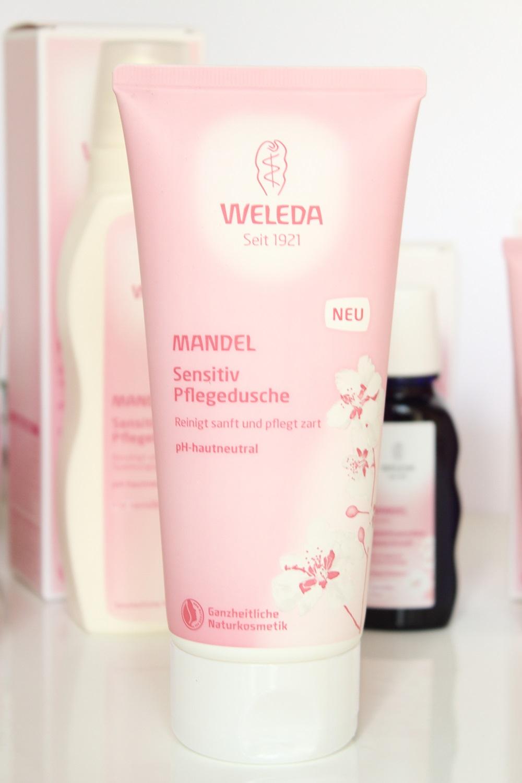 Weleda Mandel Sensitiv Körperpflegeserie - Mandel Sensitiv Pflegedusche