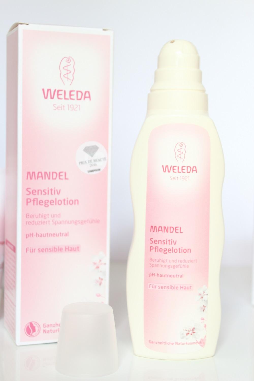 Weleda Mandel Sensitiv Körperpflegeserie - Mandel Sensitiv Pflegelotion