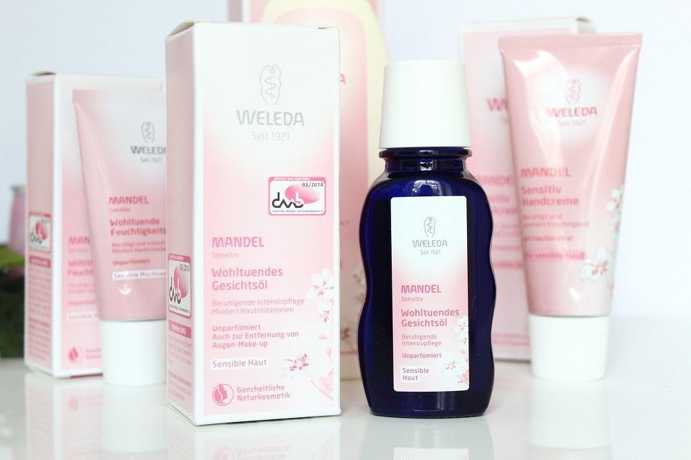 Weleda Mandel Sensitiv Körperpflegeserie - Mandel Sensitiv Wohltuendes Gesichtsöl