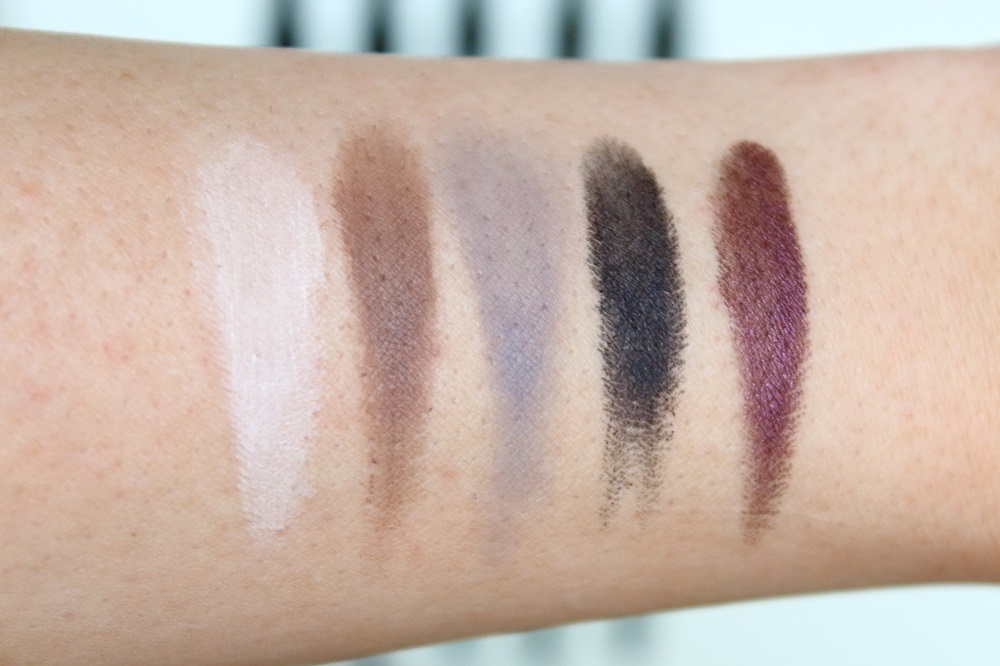 Catrice Neuheiten Augen Make-up Herbst-Winter 2016 - Eye Matic Eye Powder Pen - swatches
