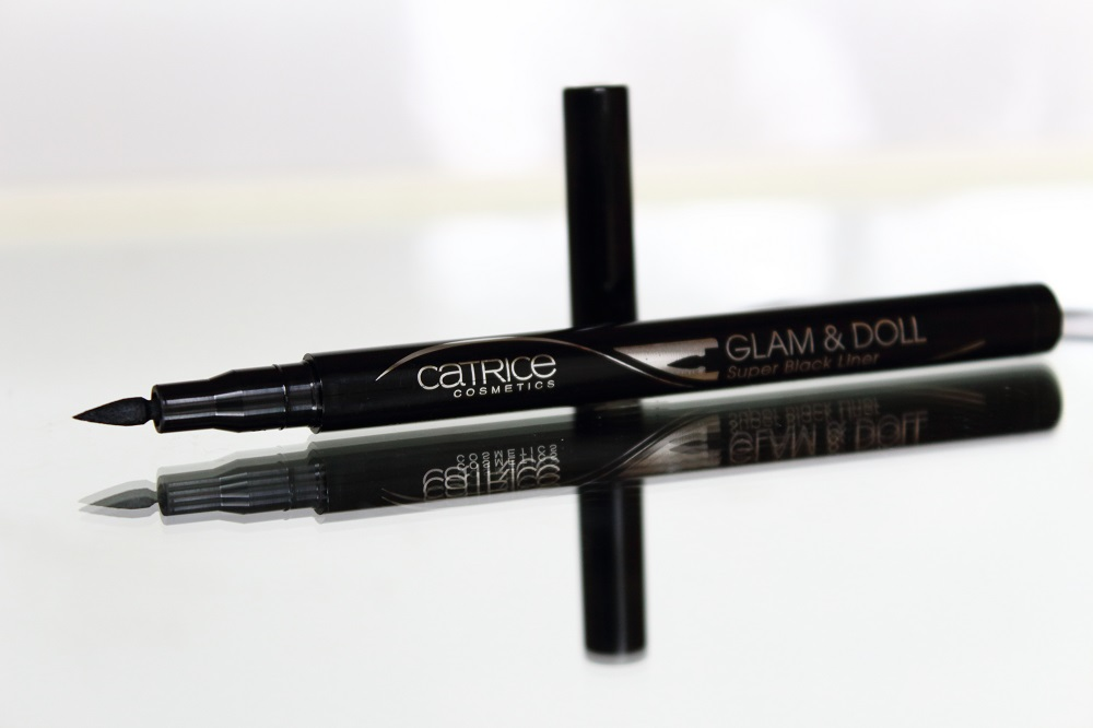 Catrice Neuheiten Augen Make-up Herbst-Winter 2016 - Glam & Doll Super Black Liner