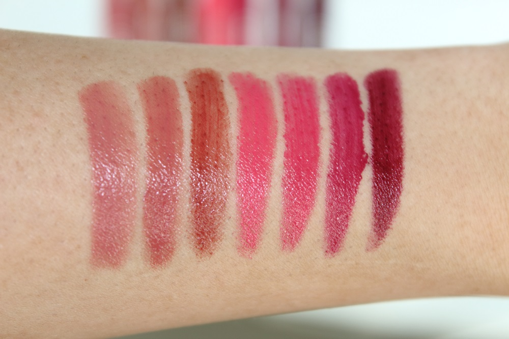 Catrice Neuheiten Lippen Make-up Herbst-Winter 2016 - Cream Lip Artist - swatches