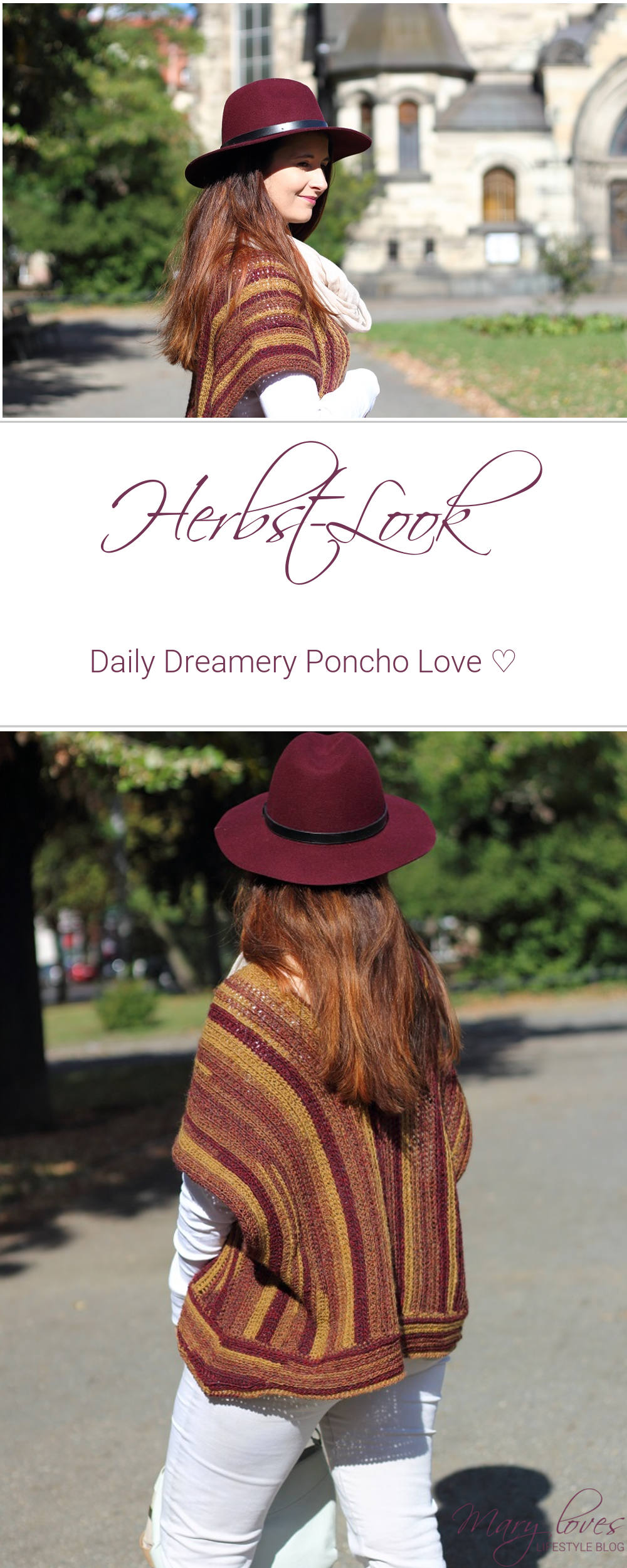 Outfit] Daily Dreamery Poncho Love - Herbstlook
