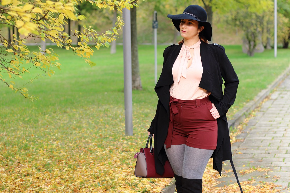 [Outfit] Shorts im Herbst kombinieren