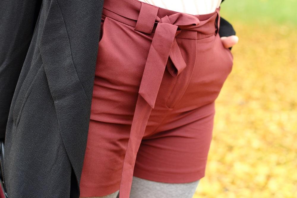 [Outfit] Shorts im Herbst kombinieren - Asos Shorts