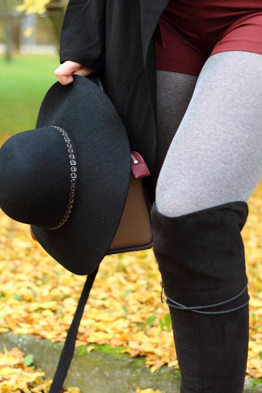 [Outfit] Shorts im Herbst kombinieren - Details