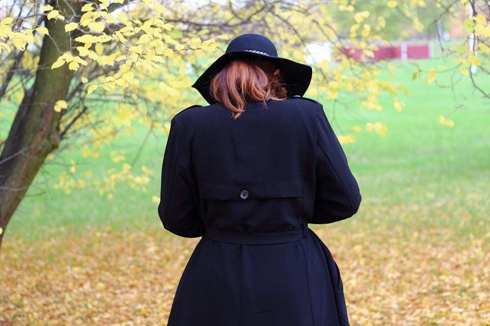 [Outfit] Shorts im Herbst kombinieren - Object Mantel