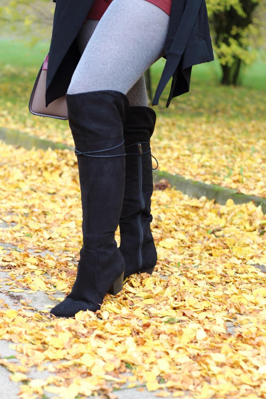 [Outfit] Shorts im Herbst kombinieren - Tamaris Carya Stiefel