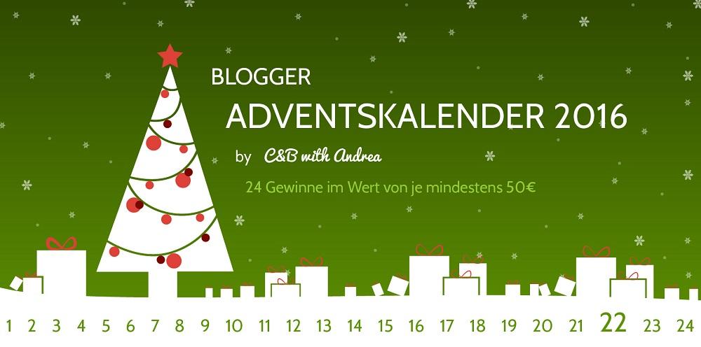 C&B with Andrea - Blogger-Adventskalender - Gewinnspiel - www.candbwithandrea.com