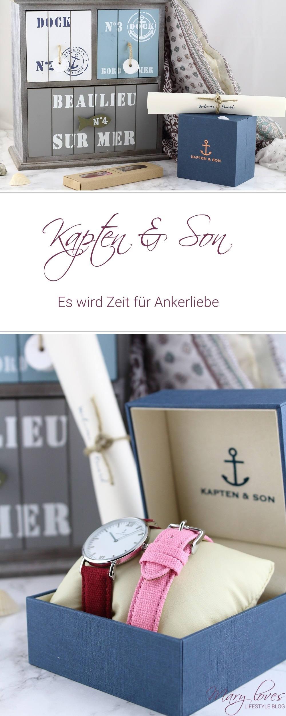 Kapten & Son - Es wird Zeit für Ankerliebe - Uhr - Armbanduhr