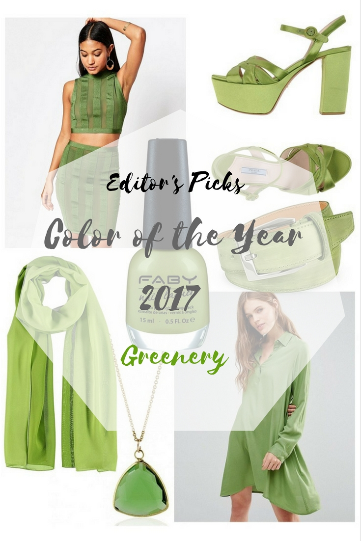 Editor's Picks - Color of the Year 2017 - Trendfarbe Greenery - Das Jahr wird grün