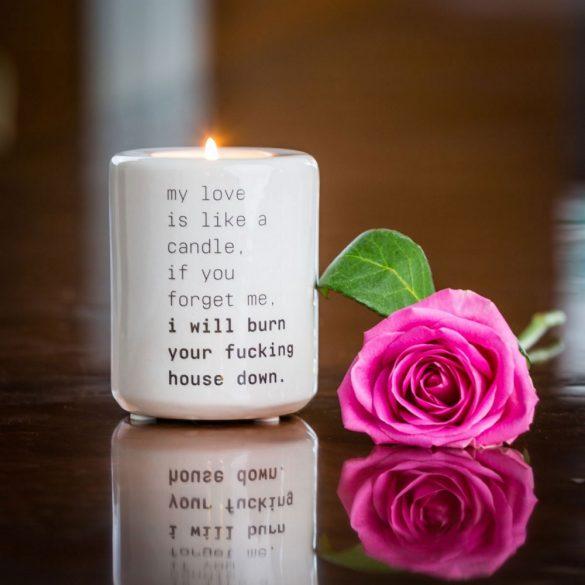 Radbag - Teelichthalter Love