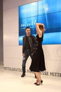 Die Trends der Mitteldeutschen Mode Messe Leipzig - Fashion-Show Select by Hermann Lange Tanzeinlage
