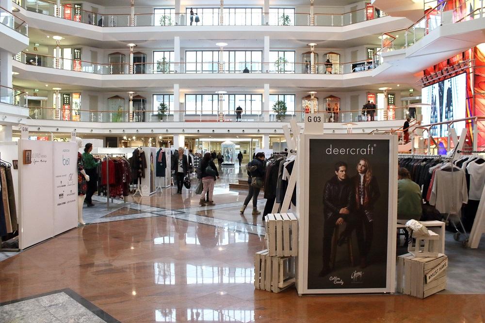 Die Trends der Mitteldeutschen Mode Messe Leipzig - Galahalle 1