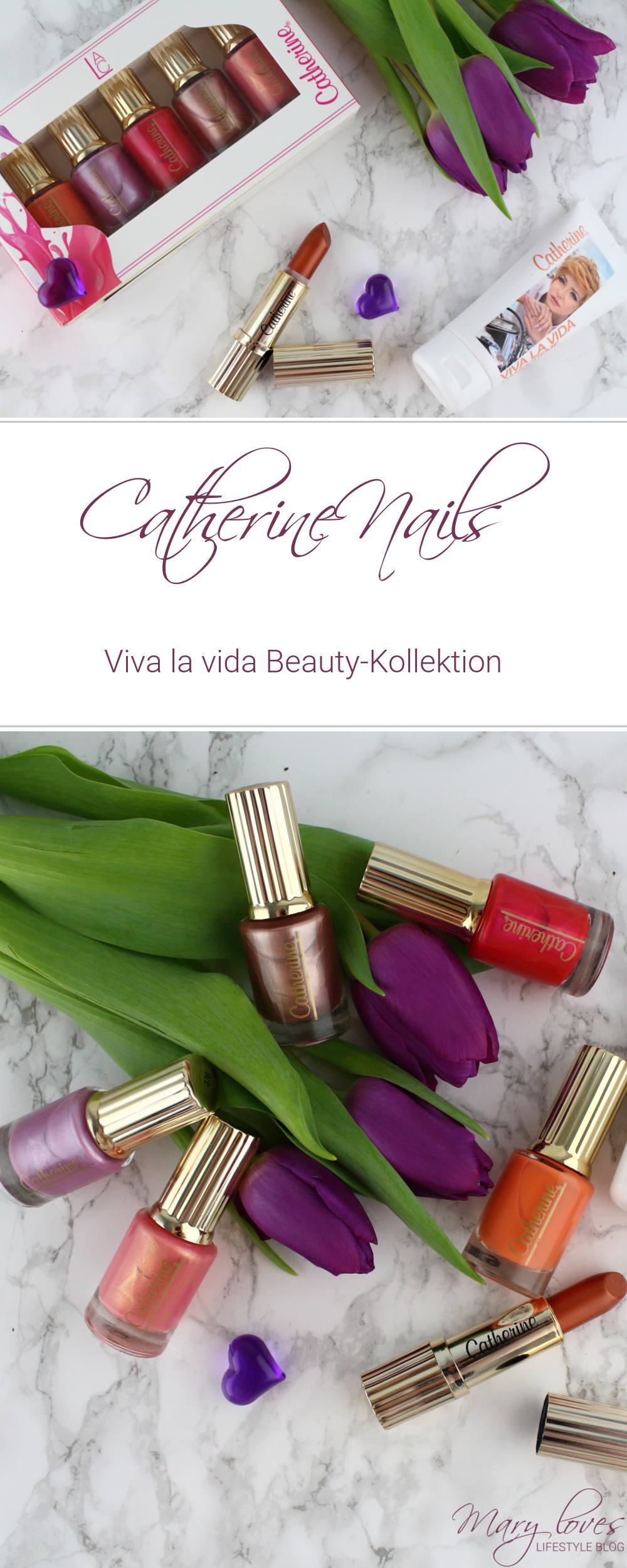 Catherine Viva la vida Beauty-Kollektion - Nagellack - Lippenstift - Nails - Handcreme