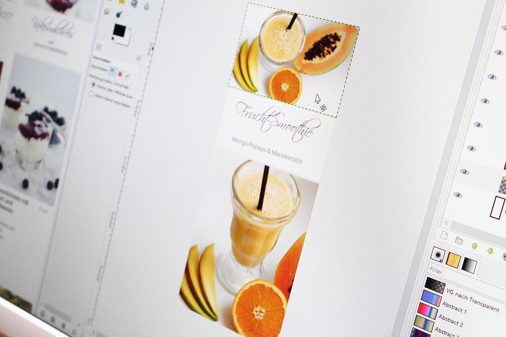 Pinterestbilder optimieren mit GIMP